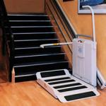 Platform for people with disabilities, for store, for public offices and private homes